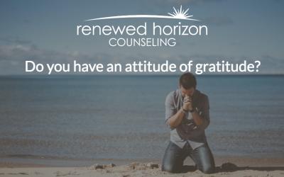 Strive For An Attitude of Gratitude