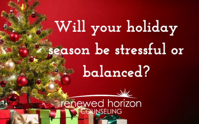 Stay balanced this holiday season